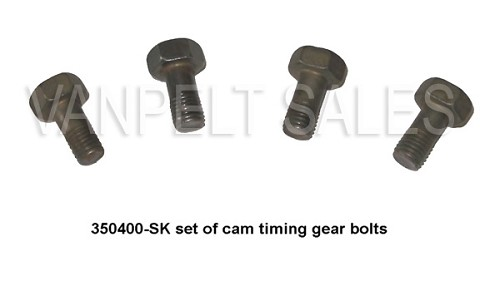 350400-SK Set of 4 Bolts (timing gear to camshaft)