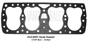 41A-6051 Head Gasket 41A-6051 Regular - 24 Stud