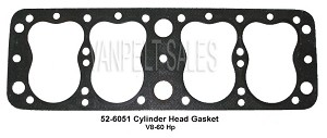 52-6051 Head Gasket - 17 stud - Regular  - V8-60