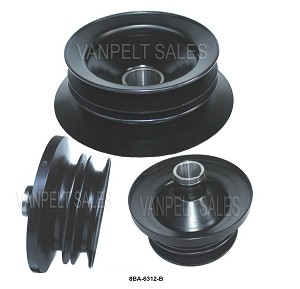 Crank Pulley - Dual Sheave Wide Belt Pulley
