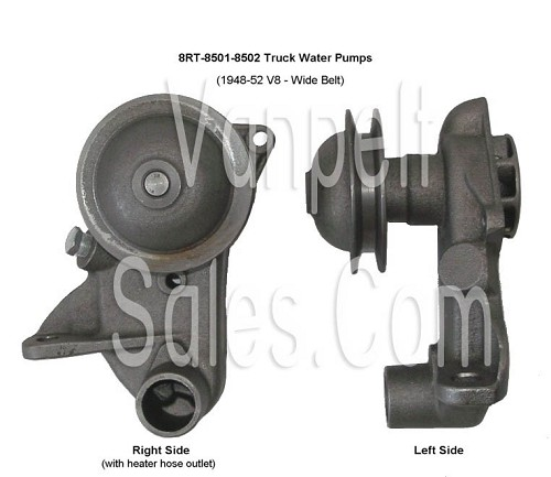 8RT-8501SPR Pair of new pumps (1948-52 V8 Ford Truck)