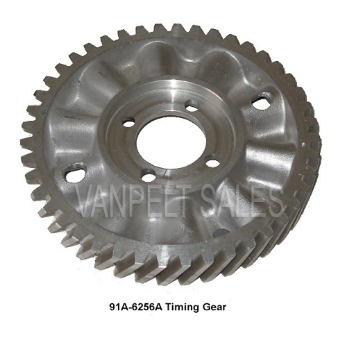 91A-6256A Timing Gear 1935 - 1948 Bolt On - Aluminum