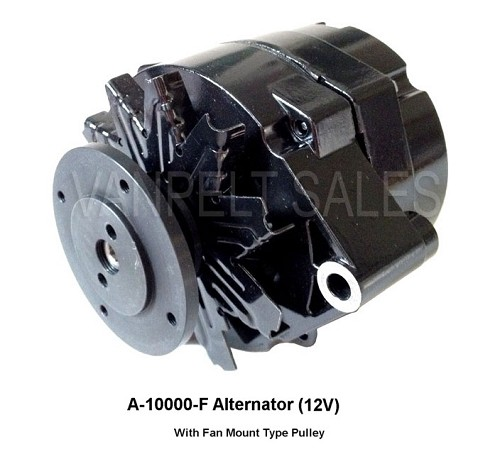 Alternator - 12 Volt - Single Wire Type