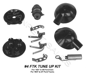 4FTK Tune Up Kit - 1937 - 1941 V8