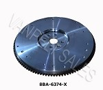 8BA-6375-X Flywheel & Ring Gear Assy (1949-53)   (for 10